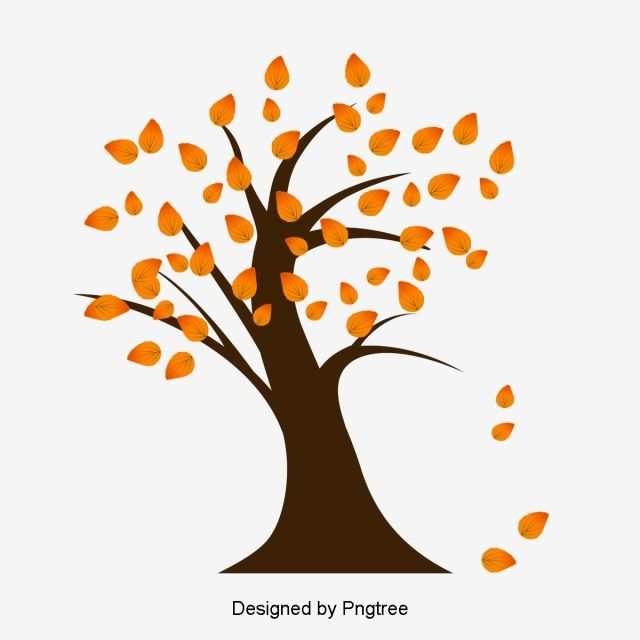 Autumn Tree Vector Autumn Leaf Vector Fallen Leaves Png