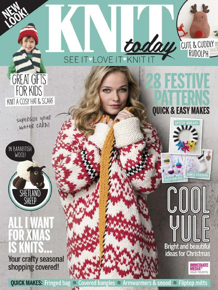 Knit Today Issue 118 2015 - 轻描淡写 - 轻描淡写