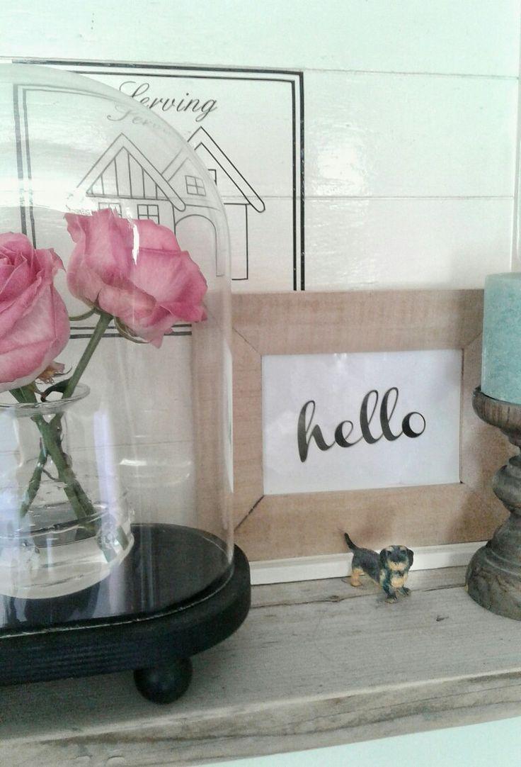 Miniatuur teckel figuurtje