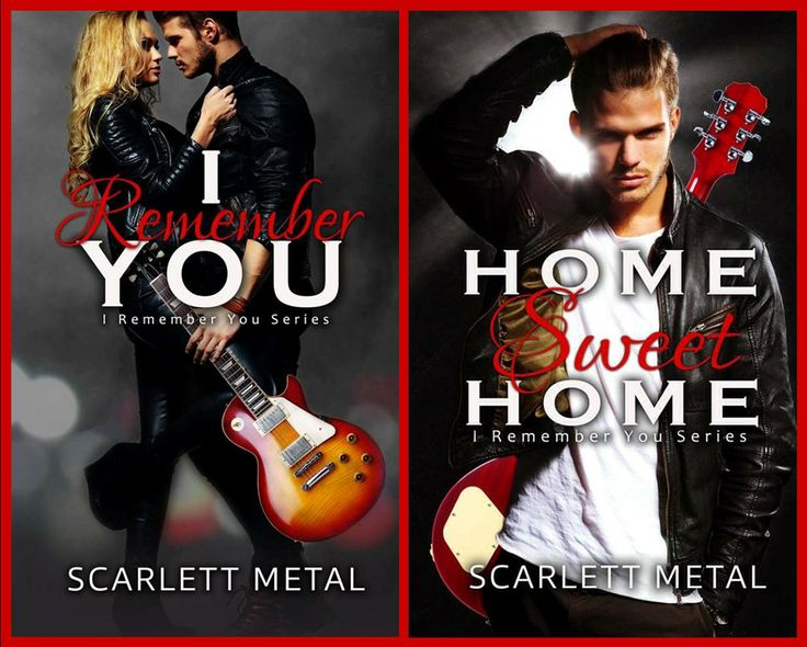 I Remember You series by Scarlett Metal