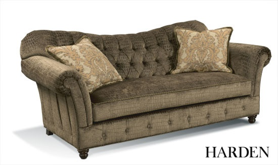 Look At This Beautiful Reverse Camel Back 9512 088 Sofa Hand Upholstered With A Panel Roll Arm