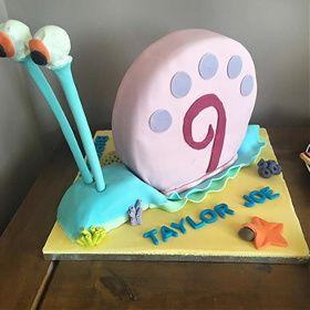 Gary the Snail cake, Sponge Bob cake