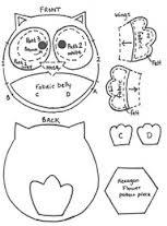 Owl Pattern Tempplate