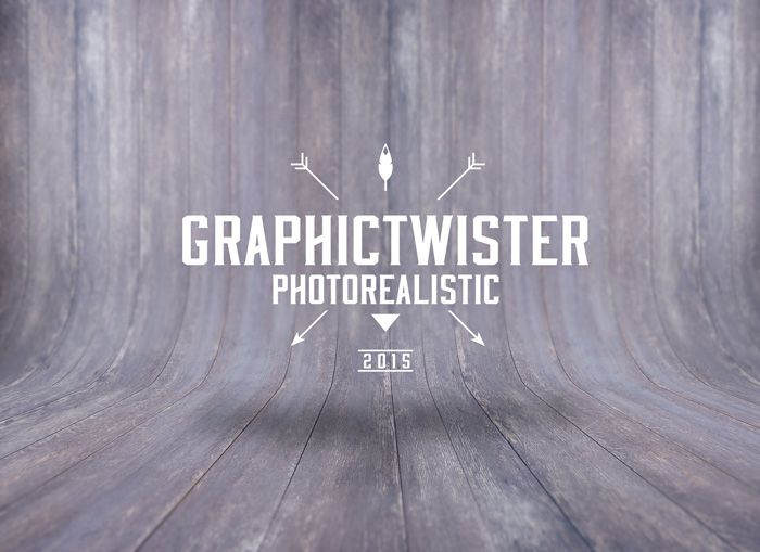www.graphictwister.com Wooden texture curved