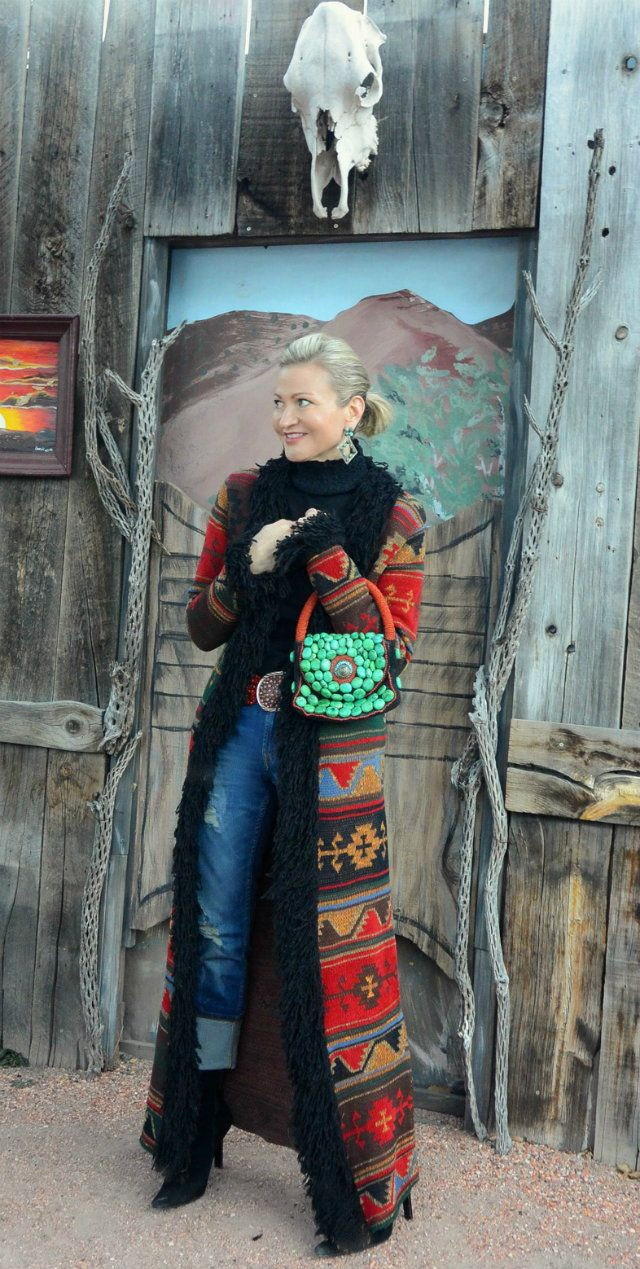 40+ Style with Jamie from More Than Turquoise. See more of her southwestern style.