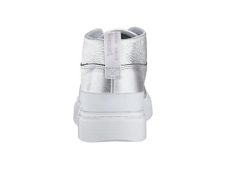 Dr. Martens Jemima Chukka Boot Women's Boots Silver Santos/White Venice