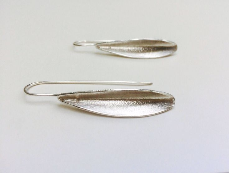 A personal favourite from my Etsy shop https://www.etsy.com/listing/521809088/olive-leaf-earring-silver-leaf
