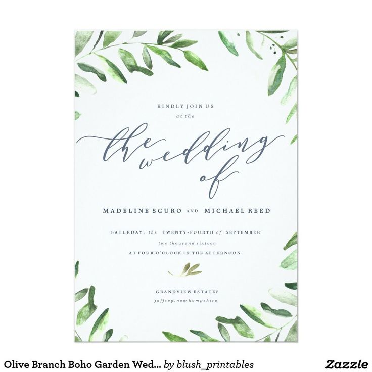 the 25+ best garden wedding invitations ideas on pinterest, Wedding invitations