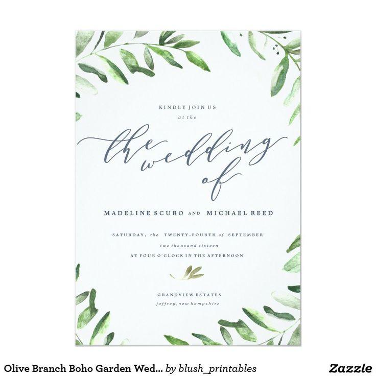 Garden Wedding Invitation Ideas: Best 25+ Garden Wedding Invitations Ideas On Pinterest