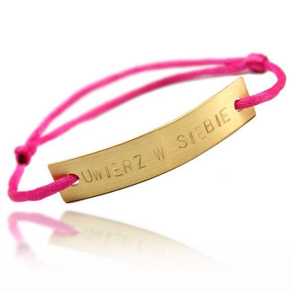 personalized bracelet - 9 USD