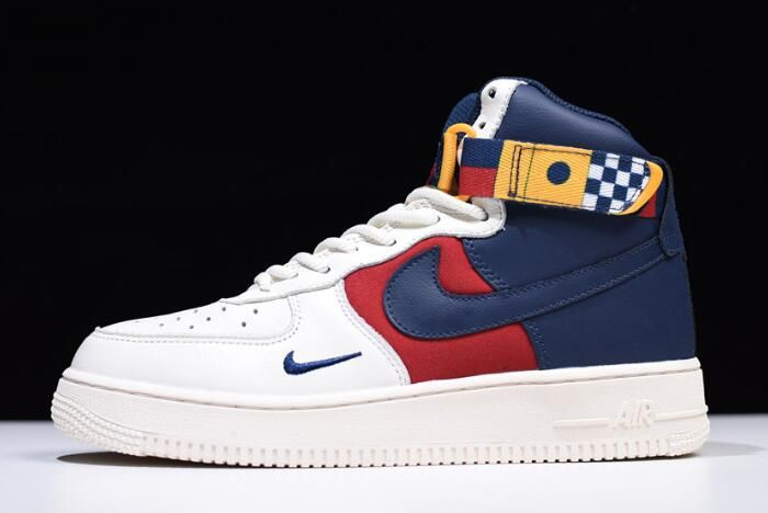 "fb75c75f1ed75 Nike Air Force 1 High  07 LV8 ""Nautical Redux"" AR5395-100"