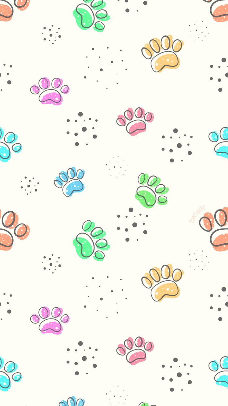 Phone Wallpapers HD Cute Paws – by BonTon TV – Free Backgrounds 1080×1920 wallpa…