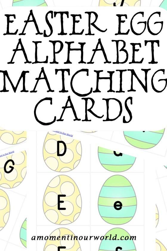 These Easter Egg Alphabet Matching Cards are a great way for children to learn the alphabet. With 11 pages, these cards can be used for matching the lower case and uppercase letters of the alphabet as well as spelling simple words. I recommend printing out these cards on white cardstock and laminating for durability. To …