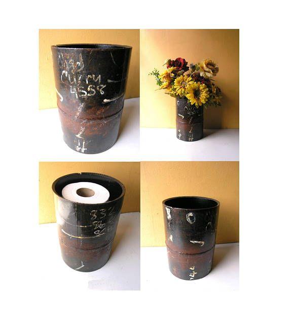 Industrial Office Waste Basket Metal Trash Bin Toilet Paper
