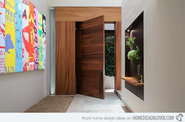 A beautiful entry is a nice welcome. #hall_de_entrada, #entry, #entryway, #entrance_hall, #recibidor, #hall_de_entree