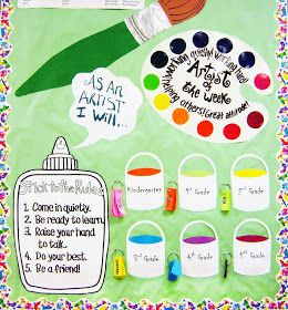 Put kids names on key chain - Cut Up & have students complete on first day