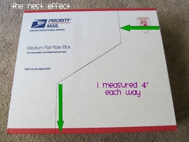 How To Create 12x12 Paper File Bo From Recycled Usps Shipping