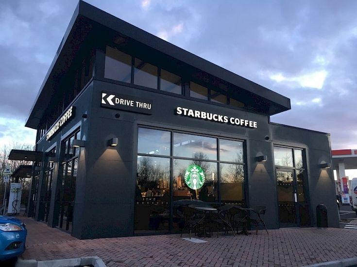 Starbucks a deschis astăzi, 30 decembrie, primul Starbucks drive thru în parcarea centrului comercial Militari Shopping Center.