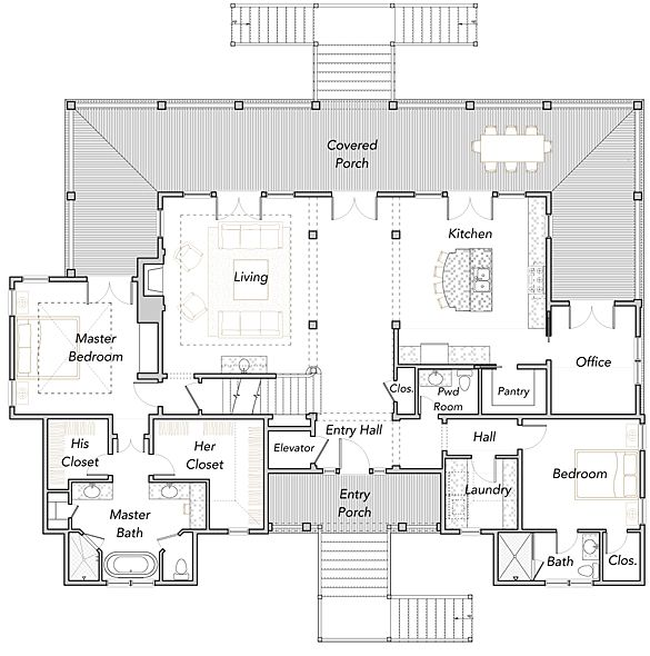 Coastal Home Plans - Daniel Island