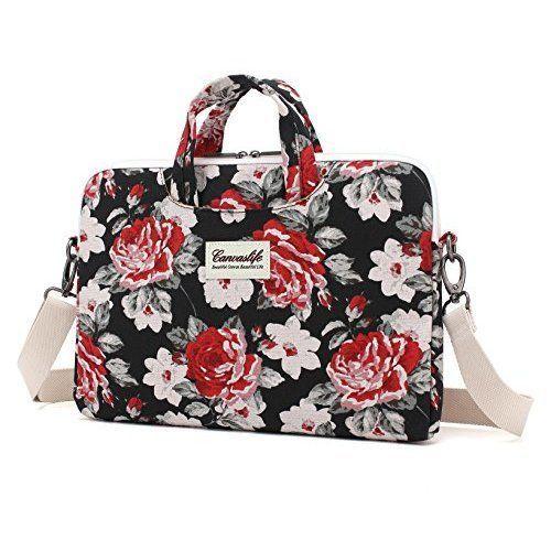 Laptop Bag For Girls Shoulder Messenger Macbook Pc 13.3'' Briefcase Fashion NEW #Canvaslife