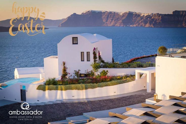 At Ambassador Aegean Luxury Hotel & Suites Santorini, we wish you all Happy Easter and a festive season filled with happiness and laughter.