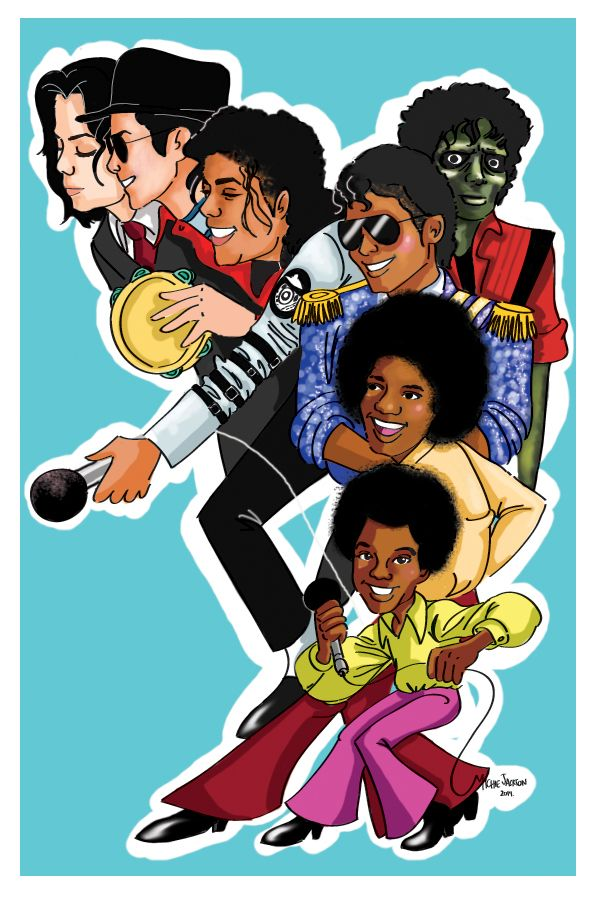 Props to Michael Jackson for dedicating his entire life to music, 5 years ain't…