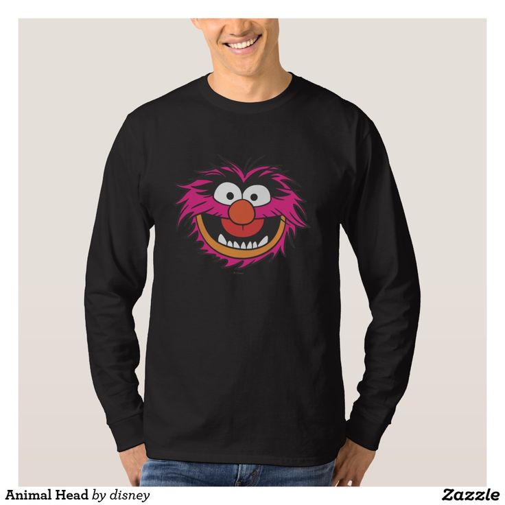 The muppets - Cabeza animal remera. Producto disponible en tienda Zazzle. Vestuario, moda. Product available in Zazzle store. Fashion wardrobe. Regalos, Gifts. Link to product: http://www.zazzle.com/cabeza_animal_remera-235088606008638343?lang=es&design.areas=[zazzle_shirt_10x12_front]&CMPN=shareicon&social=true&rf=238167879144476949 #camiseta #tshirt