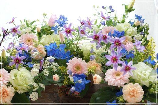 【今日の贈花】ミニフラワー♪スタッフへ|Flower note の 花日記 (横浜・上大岡 アレンジメント教室)