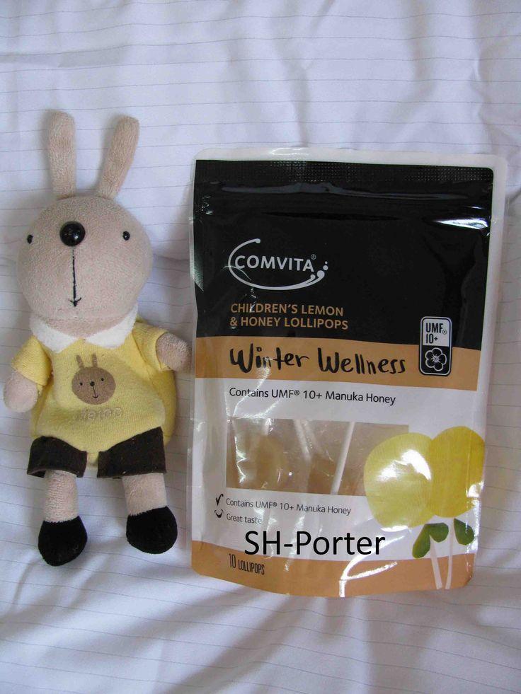 Comvita Children's Lemon And Honey Lollipops