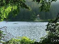 Transcarpathia.Synevir lake.