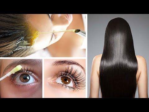 (2) Con solo 2 ingredientes harás crecer tu cabello, cejas y pestañas como nunca antes - YouTube