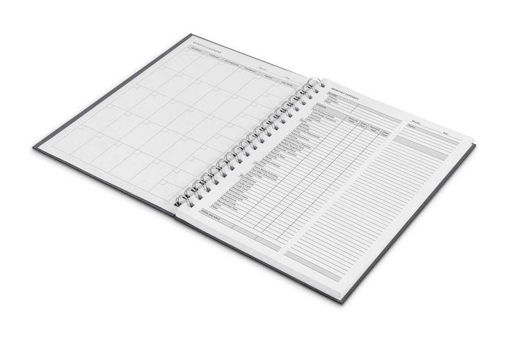 Financial Planner Notebook Corporate Gifts