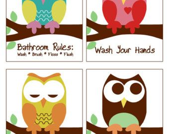 Circo Owl Bath Collection