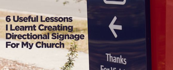 """Directional Signage (also known as """"way finding"""") can be the kind of project with the least possible return on the highest possible investment. (It's okay, I'm not talking aboutfunny church signs...."""