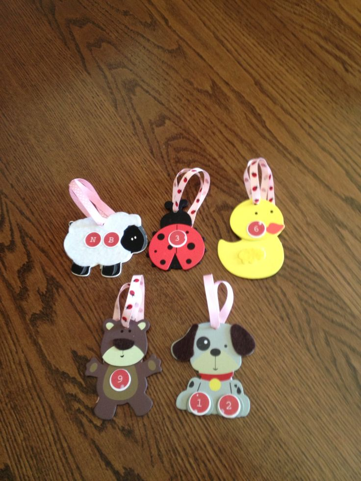 DIY Closet Dividers For Babyu0027s Closet. I Got The Painted Animals From Hobby  Lobby For