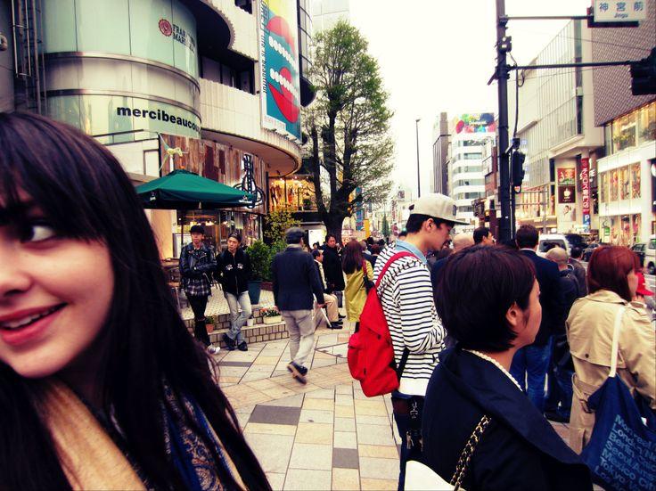 Tōkyu Plaza in Tokyo, Japan   photoshooting by my sister