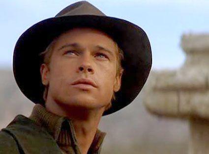 "Brad Pitt in ""Seven Years in Tibet"""