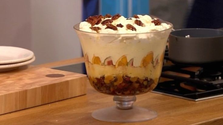 If you're a fan of Christmas desserts, then you'll love Gino's naughty trifle. Catch up with Let's Do Lunch on ITV Player