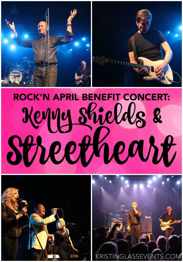 Rock'n April Benefit Concert featuring Kenny Shields & Streetheart took place on April 16, 2016 in St. Albert, Alberta.