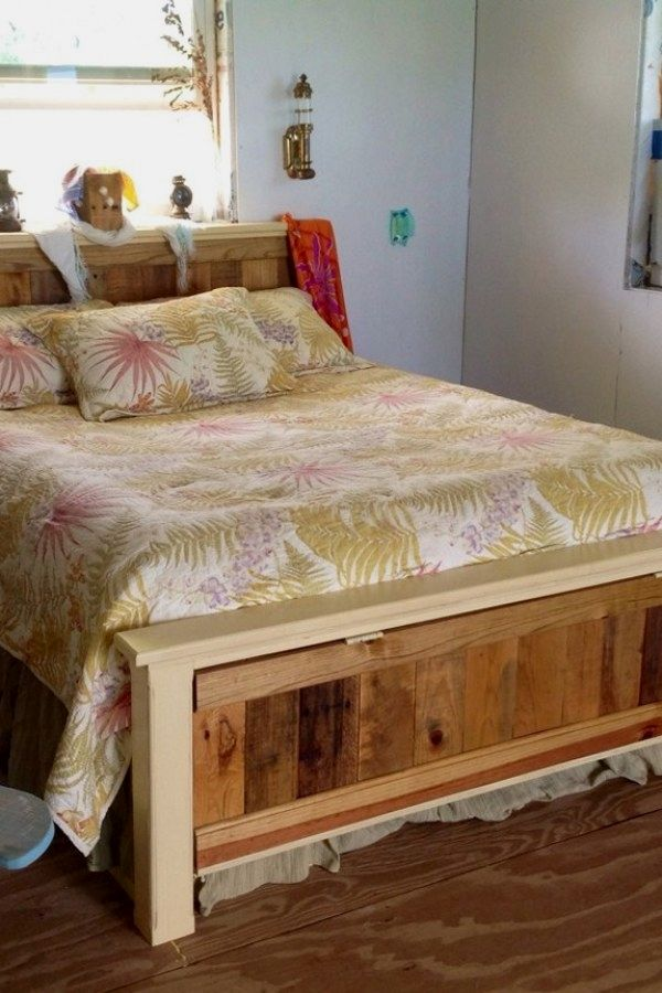 10 Easy Pallet Bedroom Furniture Designs You Can Do To Update Your