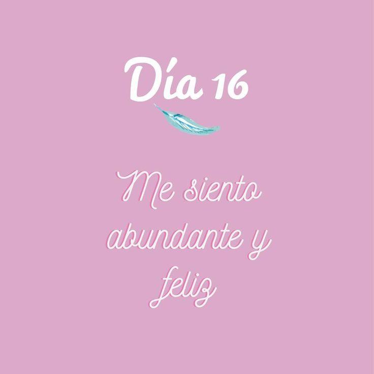 #happy #abundancia #amorpropio #todosepuede #buenavibra #namaste #retopiensopositivo #empoderamiento #vibrapositivo #sefeliz #sonrie