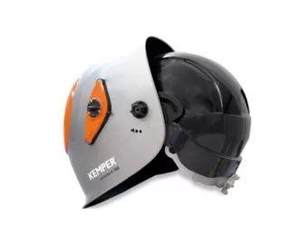 autodark 760 ochranná svářečská helma vč. ochranné skořepiny odolné nárazu