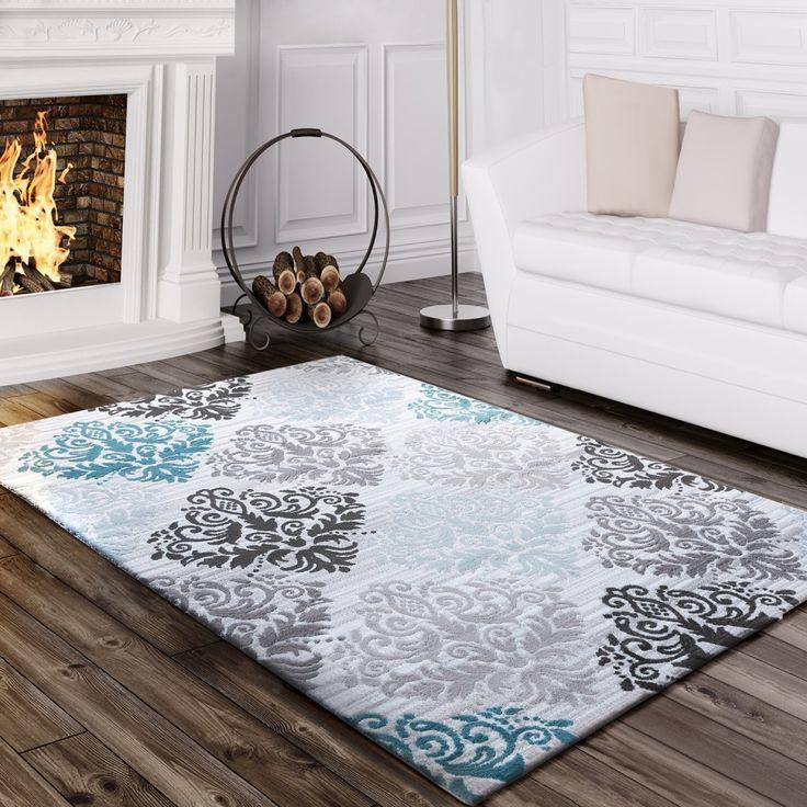 Pin Von Cennet Auf Baroque Teppich Wohnzimmer Teppich Design Teppich Turkis