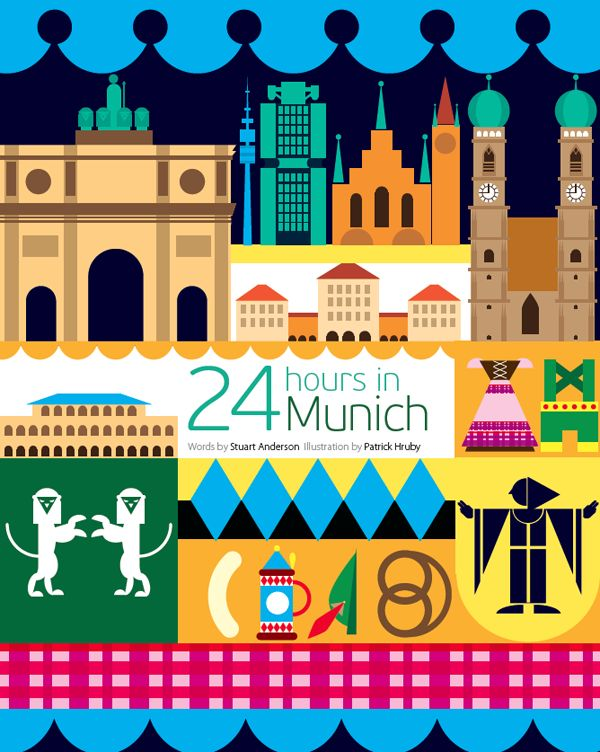 24 hours in Munich by Patrick Hruby for Oryx Inflight Magazine