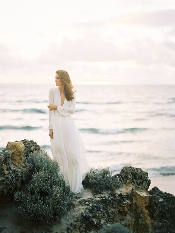 Australian coastal bridal inspiration