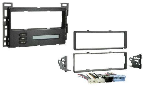 Metra - Dash Kit for Select 2004-2007 Chevrolet Malibu/ Malibu Maxx /Pontiac G6 - Black