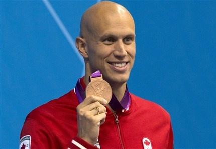 Day 5 (August 1st, 2012) - Bronze - Men's 100 M Freestyle (Swimming) - Brent Hayden