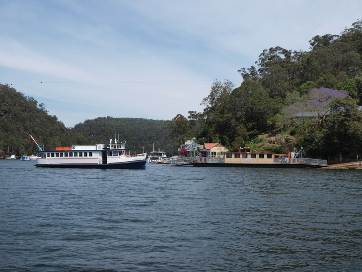 M.V. Macquarie Princess on the Hawkesbury River