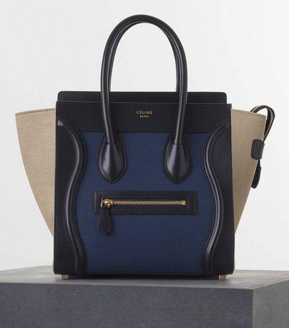 Céline Micro Luggage Handbag
