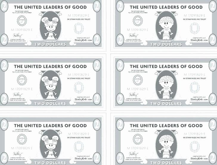 Fake Money Template Word Awesome Play Money Coloring Pages